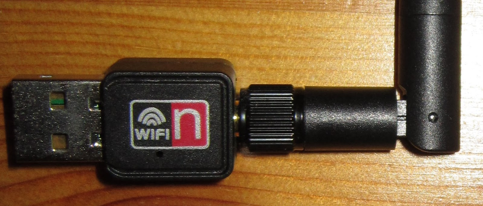 Wifi adapter for the Pi.