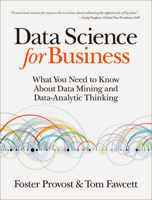 """Cover of """"Data Science for Business"""" book."""