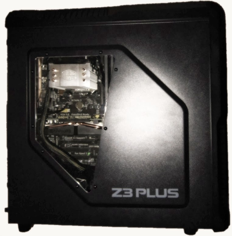 Image of an assembled PC.
