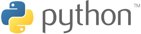 The Python logo.