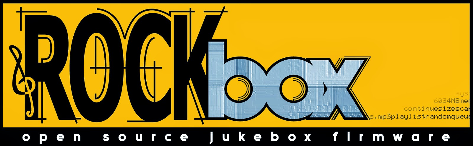 The Rockbox logo.